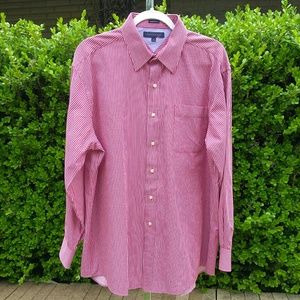 Mens Tommy Hilfiger Long Sleeve Shirt Size 17